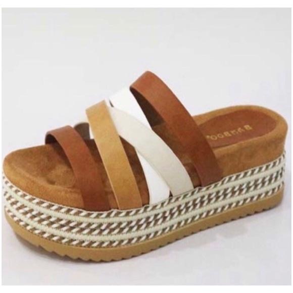 PGSwag Fashion Shoes - <LAST>Multi Color Flatform Sandals Shoes